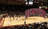 University of Denver Athletics - University: $16 for Four University of Denver Men's or Women's Basketball Game Tickets (Up to $36 Value)