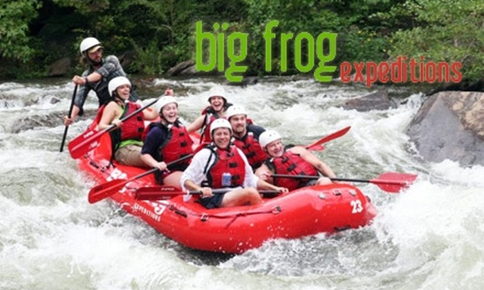 Big Frog Expeditions - 2: Whitewater Rafting Trip from Big Frog Expeditions in Benton, Tennessee. Choose Between Two Options.