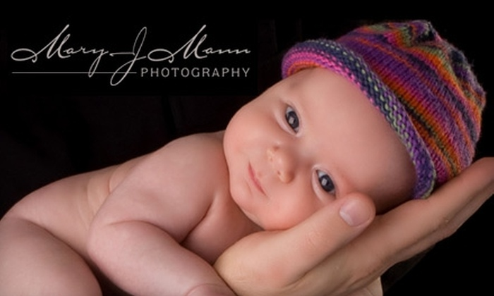 """Mary J. Mann Photography - Seven Bar Ranch: $35 for a 30-Minute Studio Session, Plus One 8""""x10"""" and One 5""""x7"""" Print, at Mary J. Mann Photography ($150 Value)"""