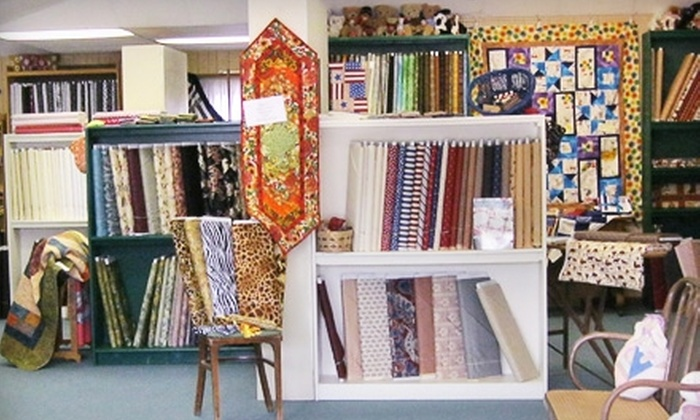 Pocketful of Poseys - Fredericksburg: $10 for $20 Worth of Quilting Products at Pocketful of Poseys in Fredericksburg