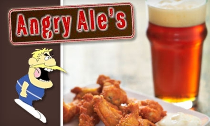 Angry Ale's Neighborhood Bar and Grill - Madison Park: $10 for $20 Worth of Pub Fare at Angry Ale's Neighborhood Bar and Grill