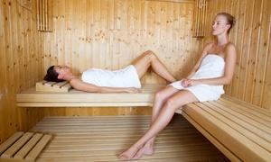 DeLuxe Spa Center: 2 oder 3 Stunden Private-Sauna-Suite für bis zu 2 Personen im DeLuxe Spa Center (20% sparen*)