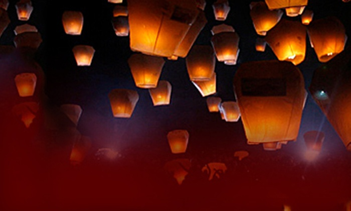 Big Fireworks: $25 for 10-Pack of Chinese Sky Lanterns from Big Fireworks ($50 Value)