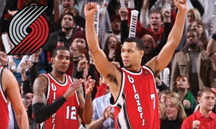 Portland Trail Blazers - Portland: Two Tickets to Portland Trail Blazers Preseason Game at Memorial Coliseum on Monday, October 11 at 7 p.m. Two Options Available.