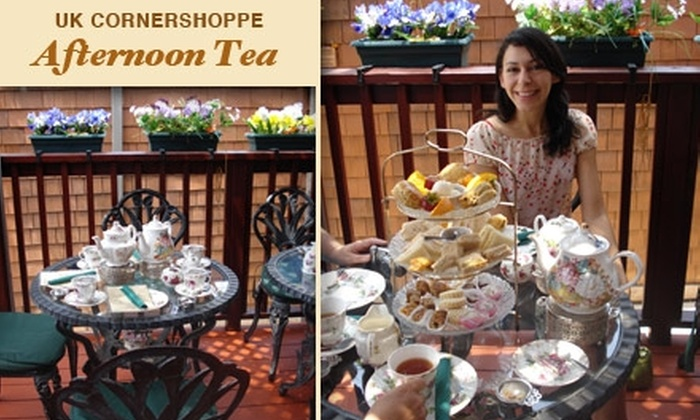 Shakespeare's Corner Shoppe & Afternoon Tea - Midtown: $9 for Authentic Afternoon Tea ($18.95 Value) Plus 10% Off Bakery Items and Gifts at Shakespeare's Corner Shoppe & Afternoon Tea