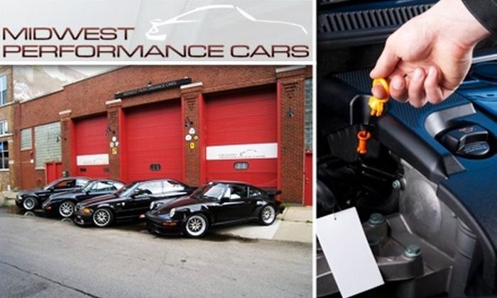 Midwest Performance Cars - West Loop: $20 Conventional Oil Change at Midwest Performance Cars