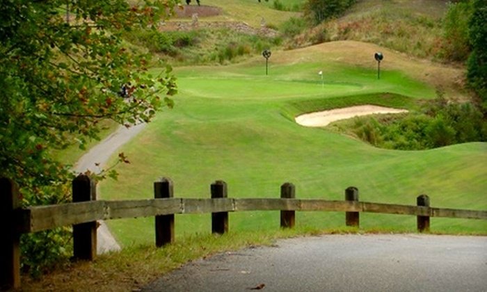 Crooked Creek Golf Club  - Crooked Creek South: 18 Holes of Golf Including Cart at Crooked Creek Golf Club in Fuquay-Varina. Choose from Two Options.
