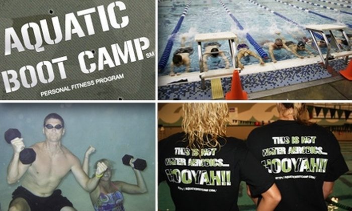 Aquatic Boot Camp - Multiple Locations: $59 for Four Weeks of Aquatic Boot Camp ($180 Value)