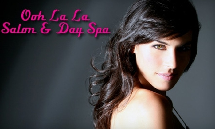 Ooh La La Salon and Day Spa - Rocklin: $75 for a Hair Service (Up to $150 Value) or $75 for a Massage and Facial (Up to $155 Value) at Ooh La La Salon & Day Spa