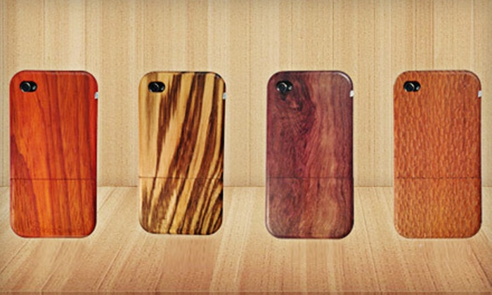 Arbor Cases: $25 for a Handmade Wooden iPhone 4S Case from Arbor Cases (Up to $59.99 Value)