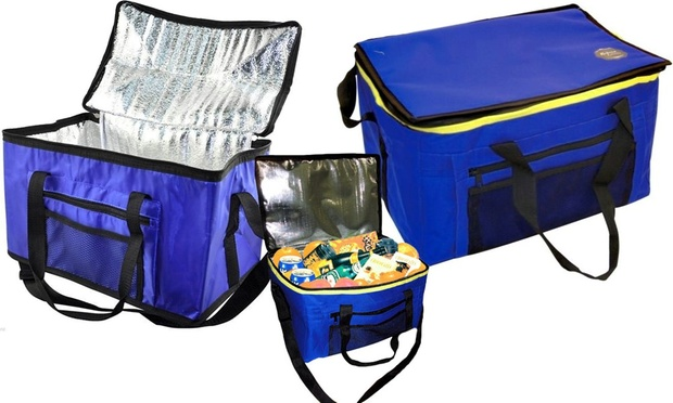 Extra Large 26 Litre 48 Can Insulated Cooler Cool Bag Blue