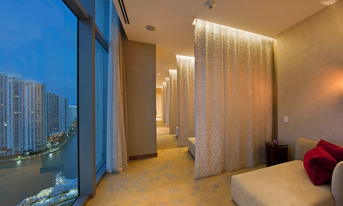 Enliven Spa & Salon at JW Marriott Marquis Miami - Miami: One or Two 50-Minute Enliven Massages at Enliven Spa & Salon at JW Marriott Marquis Miami (Up to 38% Off)