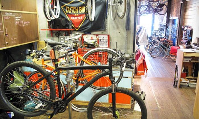 Dutch Bike Co. Seattle - Ballard Bike Co.: Standard or Comprehensive Bicycle Tune-Up at Dutch Bike Co. Seattle (Up to 53% Off)