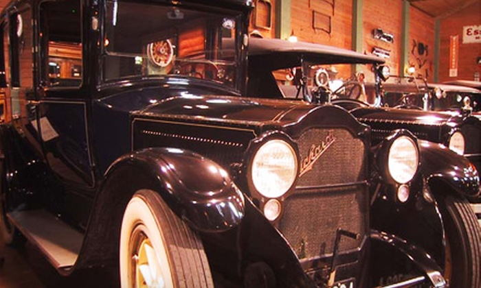 Fort Lauderdale Antique Car Museum - Poinciana Park: $8 for Adult Admission for Two to the Fort Lauderdale Antique Car Museum ($16 Value)