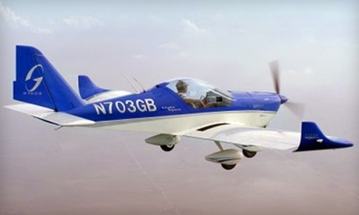 Northampton Airport - Northampton: $85 for an Introductory Flight Lesson, Ground School, and T-Shirt at Northampton Airport ($150 Value)