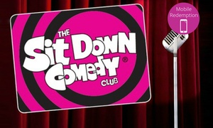 The Sit Down Comedy Club: Comedy Show Ticket for One ($10) or Two People ($18) to The Sit Down Comedy Club, Paddington ($30 Value)