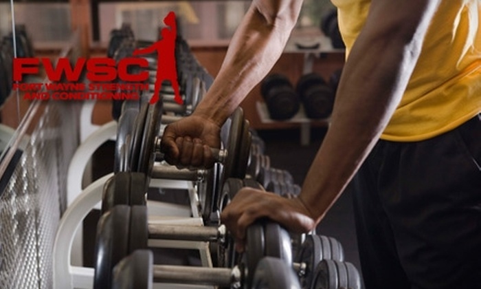 Fort Wayne Strength and Conditioning - Fort Wayne: $119 for a 10-Week Essentials of Health and Fitness Program at Fort Wayne Strength and Conditioning ($210 Value)