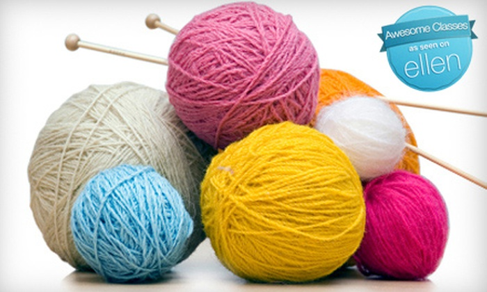 Far North Yarn Co. - Spenard: $15 for Two Knitting Classes at Far North Yarn Co. ($30 Value)