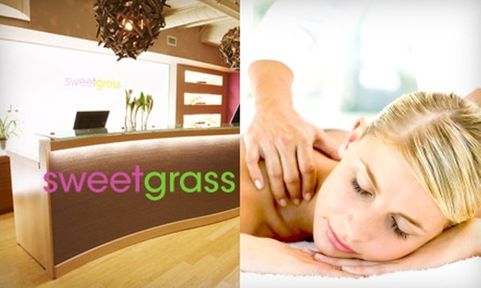 sweetgrass spa - Downtown Toronto: $50 for a 30-Minute Facial and 30-Minute Relaxation Massage at Sweetgrass Spa ($110 Value)