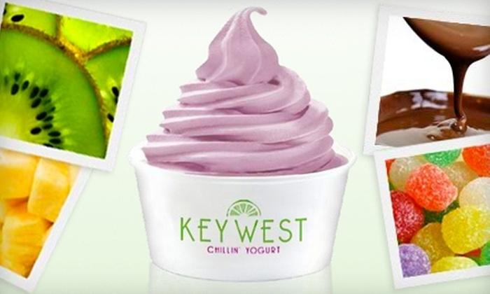 Key West Chillin' Yogurt - Northeast Virginia Beach: $5 for $10 Worth of Frozen-Yogurt Treats at Key West Chillin' Yogurt in Virginia Beach