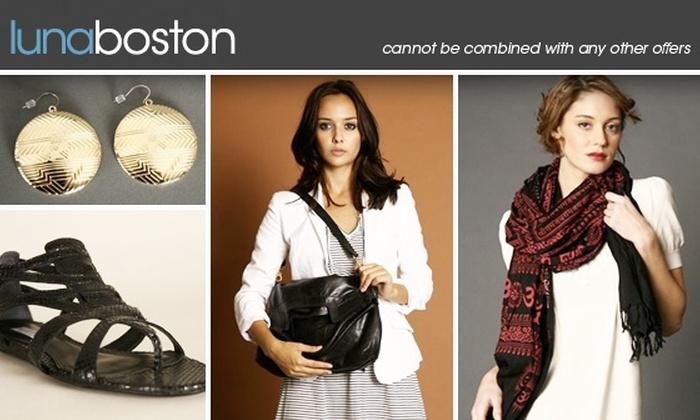 Luna Boston - Back Bay: $50 for $125 of Designer Essentials at Luna Boston