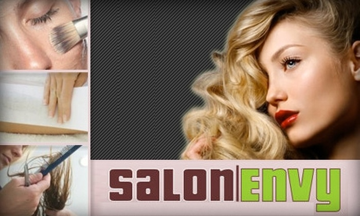 Salon Envy - DePaul: $50 for $125 Worth of Hairstyling, Coloring, Waxing, Facials, and More at Salon Envy