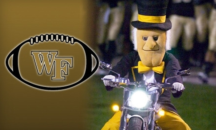 Wake Forest Football - Winston-Salem: $40 for Two Tickets to the Boston College vs. Wake Forest game at BB&T Field on Nov. 6 ($80 Value)