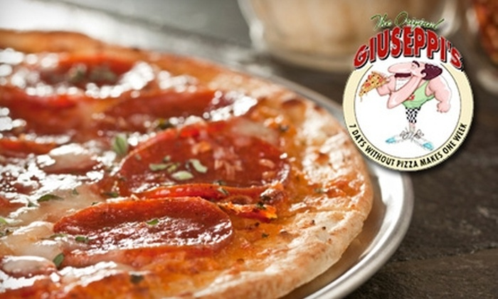 Giuseppi's Pizza & Pasta - Mount Pleasant: $5 for $10 Worth of Italian Fare and Drinks at Giuseppi's Pizza & Pasta