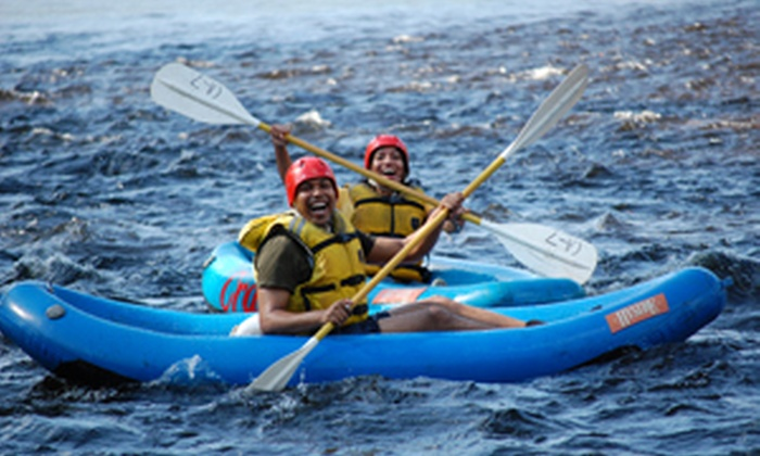 Crab Apple Whitewater - Charlemont: Inflatable Kayaking Whitewater Excursions for Two, Four, or Six from Crab Apple Whitewater in Charlemont (Up to 52% Off)