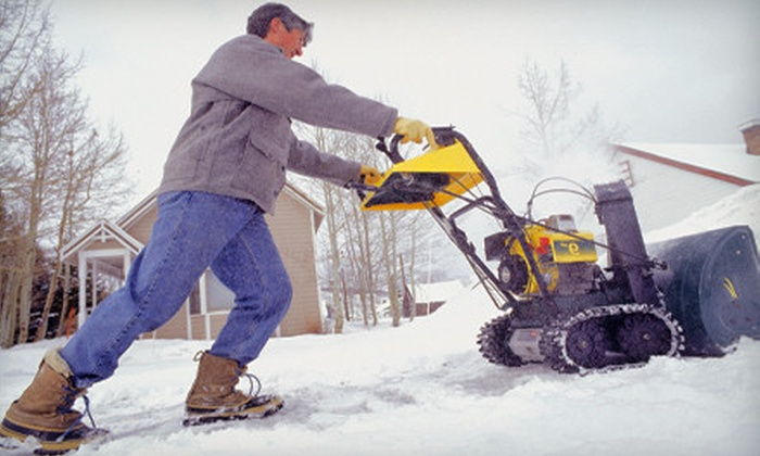 World Coverings - Tuxedo Park: $30 for a Residential Snow-Removal Package for Driveways, Front Walks, and Sidewalks from World Coverings ($60 Value)
