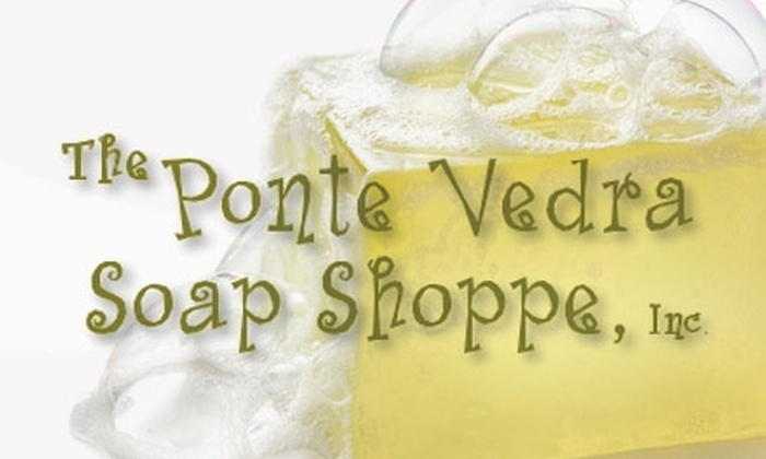 The Ponte Vedra Soap Shoppe - Palm Valley: $19 for a Melt and Pour Soap-Making Kit at The Ponte Vedra Soap Shoppe ($39 Value)