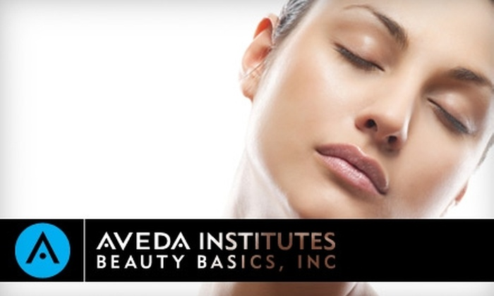 Aveda Institute Houston - Shenandoah: $20 for a Facial or Body Wrap at Aveda Institute Houston (Up to $50 Value)