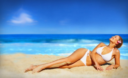 1 Personalized Airbrush Spray Tan (a $35 value) - Planet Tan in Clearwater