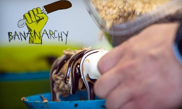 Bananarchy - Austin: $5 for $10 Worth of Frozen Banana Treats at Bananarchy