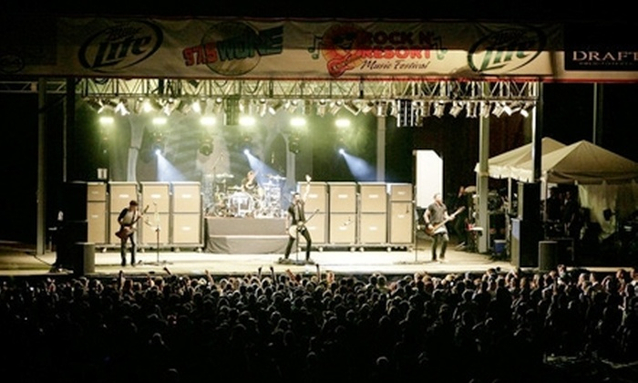 Rock the Resort - North Lawrence: Two-Day Pass to Rock the Resort on July 8–9 at Clay's Park Resort in North Lawrence ($60 Value)