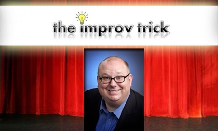 The Improv Trick - Gravois Park: $40 for Improv or Stand-Up Comedy Classes at The Improv Trick