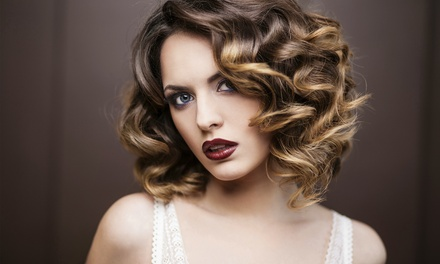 Haircut and balayage styling at Elite Image (Up to 53% Off)