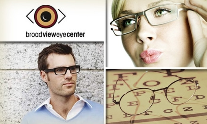 Broad View Eye Center - Broadview Heights: $50 for $125 Worth of Prescription Glasses, Sunglasses, or Services from Broad View Eye Center