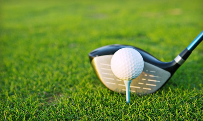Chisel Creek Golf Club - Chisel Creek Golf Club: Golf Outing for Two with Lunch or Five Driving-Range Sessions at Chisel Creek Golf Club in Landenberg (Up to 59% Off)