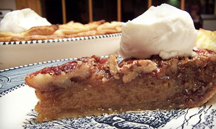 Ambrosia Bella - Pleasant: Custom-Order Pie, Tart, or Cobbler or $10 for $20 Worth of Café Fare at Ambrosia Bella in Angola (Up to 60% Off)