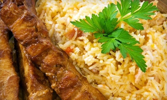 Borage Grill - Conyers: $15 for $30 Worth of Mediterranean Fare at Borage Grill in Conyers