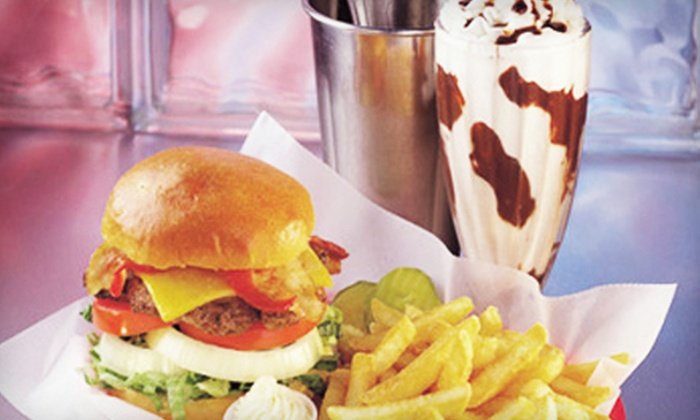 5 & Diner - Multiple Locations: $10 for $20 Worth of Classic Diner Fare at 5 & Diner. Five Locations Available.