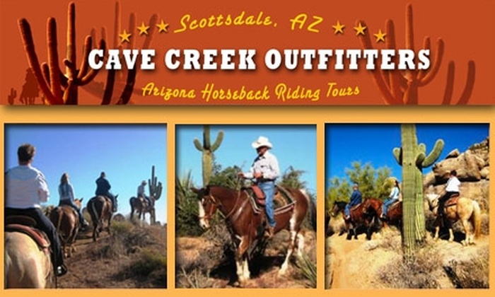 Cave Creek Outfitters - Tonto: $38 for a Two-Hour Guided Horseback-Riding Tour With Cave Creek Outfitters ($70 Value)