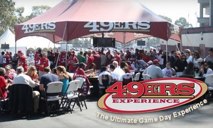 49ersExperience - San Francisco: $15 for 49ers One-stop Express Service to Candlestick Park Plus Amenities  (Up to $36 Value). Choose between Two Express Options for Seven Games.