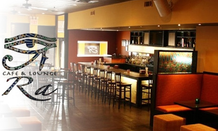 Ra Café and Lounge - Sunnyside: $10 for $20 Worth of Modern Mediterranean and New American Dishes at Ra Café and Lounge