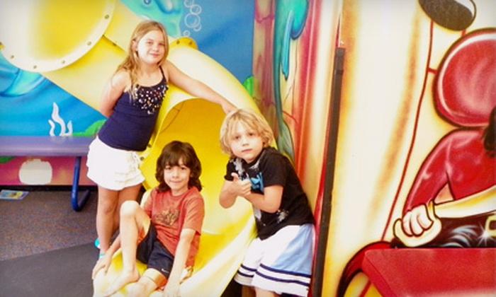 Under the Sea Indoor Playland  - Woodland Hills: $20 for Five Open-Play Visits at Under the Sea Indoor Playground in Woodland Hills ($45 Value)