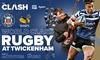 The Clash: Bath Rugby v Wasps