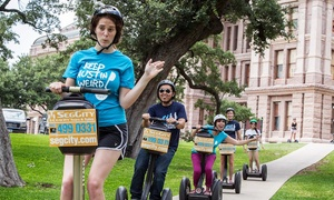 SegCity - Austin: Choice of Segway Tour for One, Two, or Four from SegCity (Up to 53% Off)