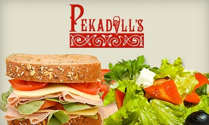 Pekadill's - Whitehall: $6 for $12 Worth of Deli Sandwiches and Wraps at Pekadill's in Whitehall