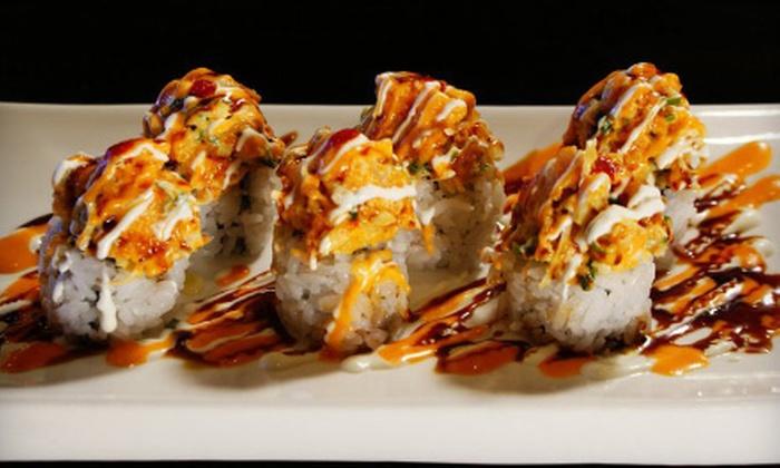 Sushi Badaya - Highland Park: $20 for $40 Worth of Sushi and Japanese Cuisine at Sushi Badaya in Highland Park